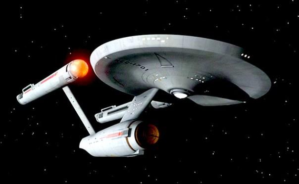 Nave Enterprise Original - Divulgação