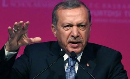 Recep Erdogan após o golpe